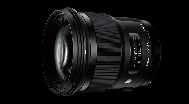 単焦点レンズ Sigma50mm F1.4 DG HSM