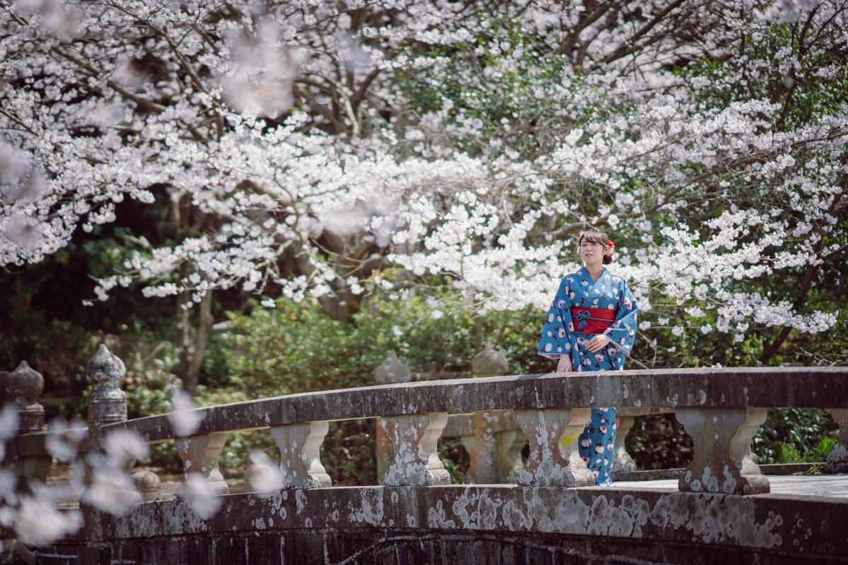 長崎市 桜ポートレート2